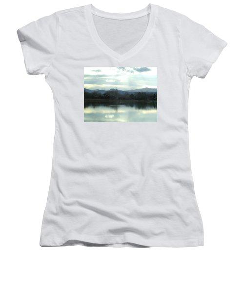 Spring Chill Women's V-Neck T-Shirt