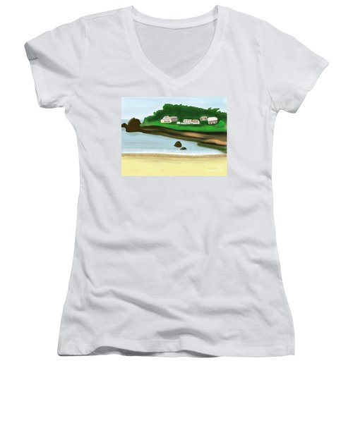A Peaceful Life  Women's V-Neck