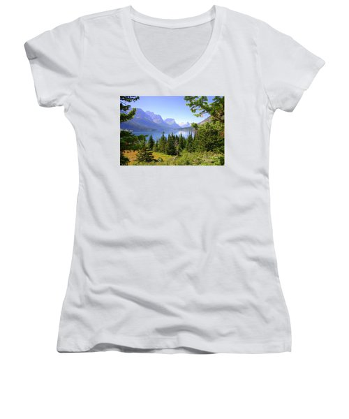 St. Mary Lake Women's V-Neck (Athletic Fit)