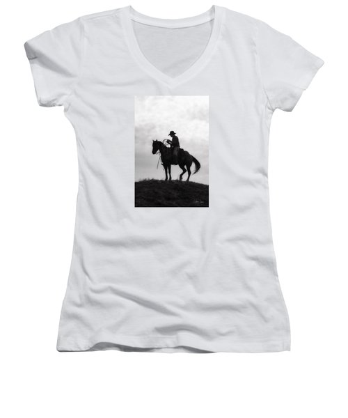 Standing Watch 2013 Women's V-Neck (Athletic Fit)