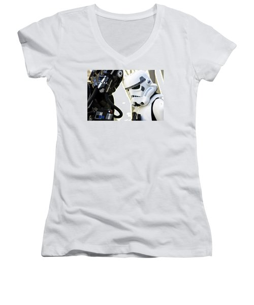 Star Wars  Women's V-Neck T-Shirt
