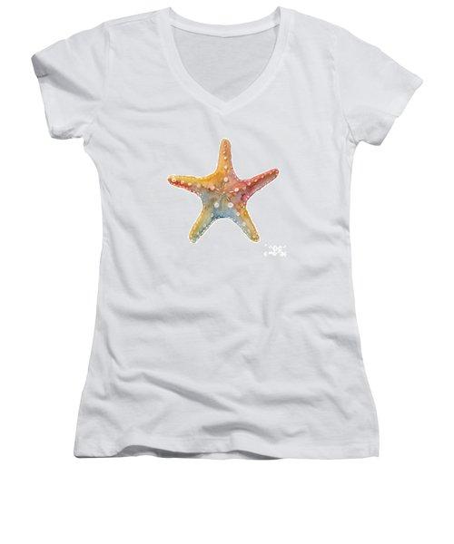 Starfish Women's V-Neck