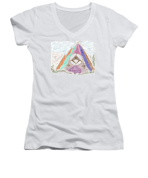 Stargate Women's V-Neck T-Shirt