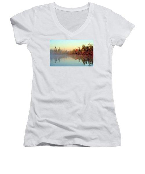 Still Water Marsh Women's V-Neck T-Shirt