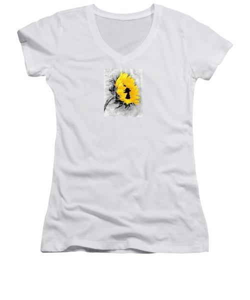Sun Power Women's V-Neck (Athletic Fit)
