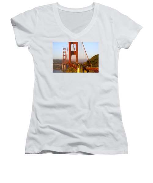 Sunday Morning Traffic Women's V-Neck