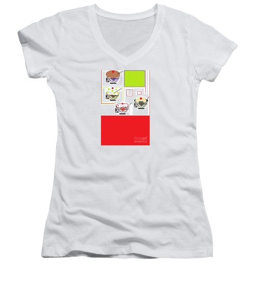 Sweet Tooth Women's V-Neck (Athletic Fit)
