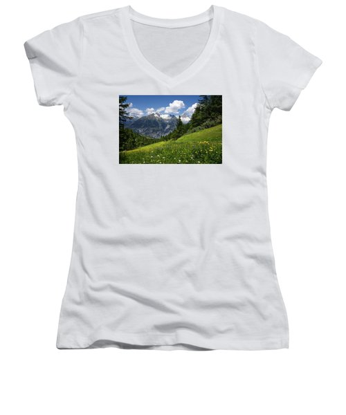 Switzerland Bietschhorn Women's V-Neck