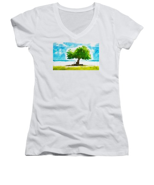 Summer Magic Women's V-Neck
