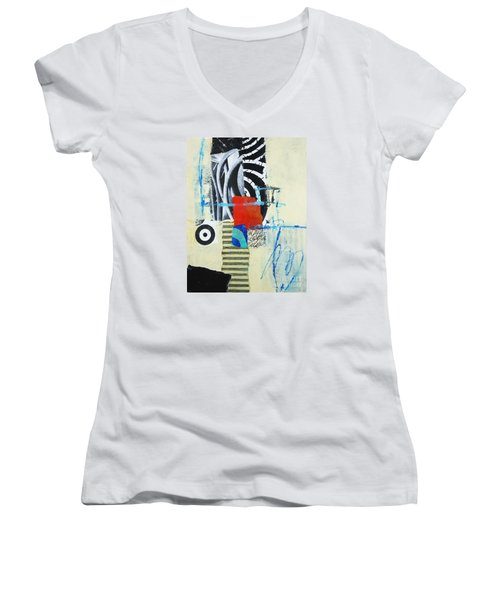 Target Women's V-Neck T-Shirt (Junior Cut) by Elena Nosyreva