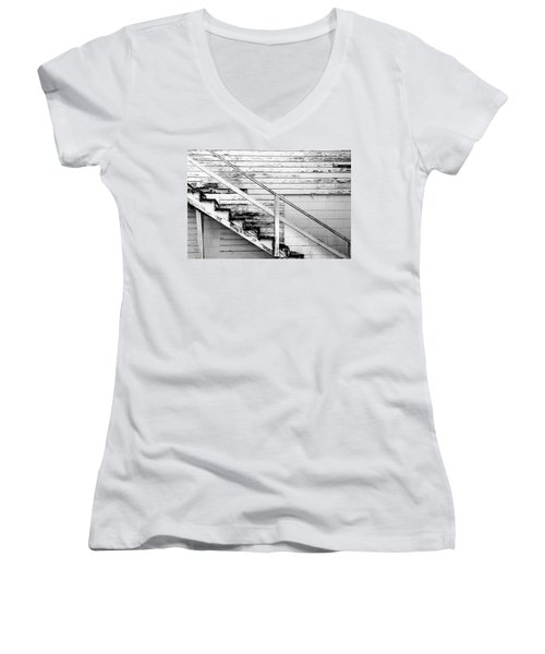 The Back Stairs Women's V-Neck T-Shirt