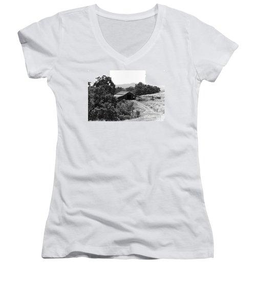 The Barn Women's V-Neck T-Shirt