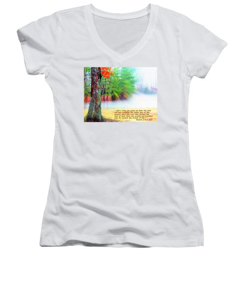 The Breath Of Life Women's V-Neck T-Shirt