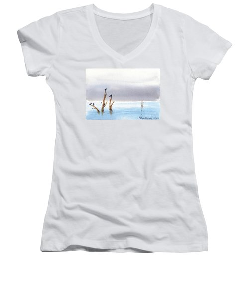 The Calm Women's V-Neck