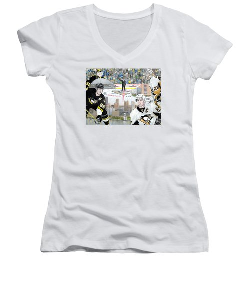 The Changing Of The Guard Women's V-Neck T-Shirt