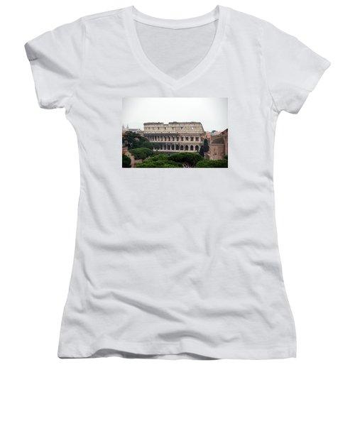 The Coliseum  Women's V-Neck T-Shirt