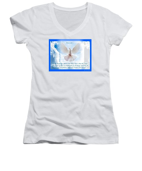 The Comforter Women's V-Neck T-Shirt