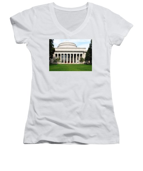 The Dome At Mit Women's V-Neck