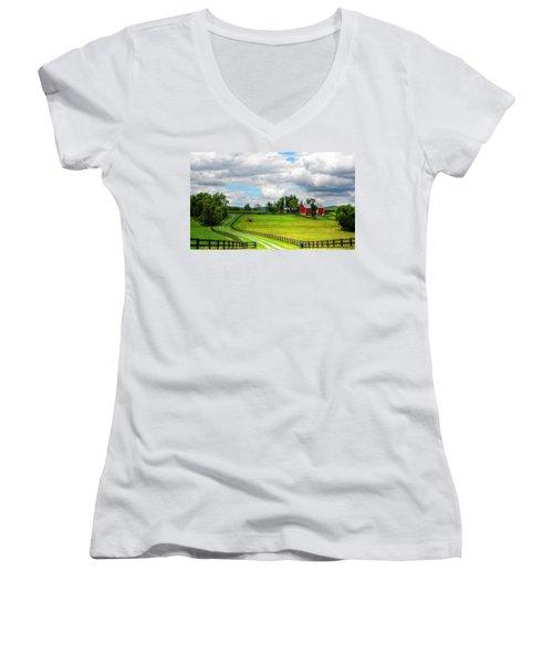 The Farm Women's V-Neck T-Shirt