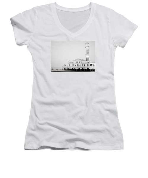 The Floating Mosque Women's V-Neck