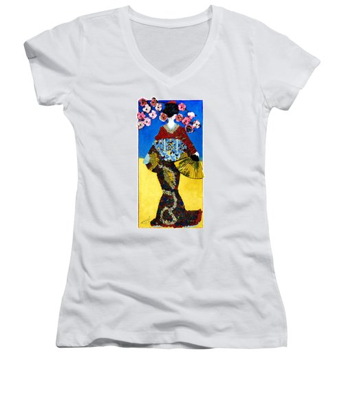 The Geisha Women's V-Neck