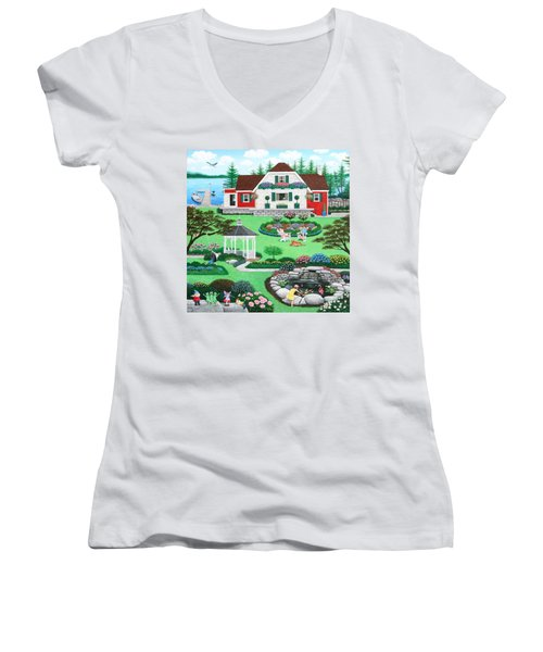 The Good Life Women's V-Neck (Athletic Fit)