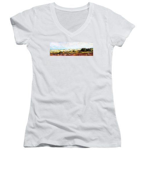 Behind The Surge Women's V-Neck