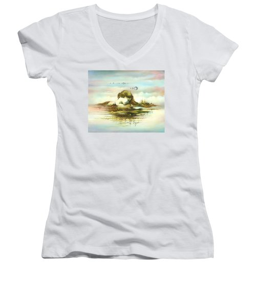 The Island Women's V-Neck
