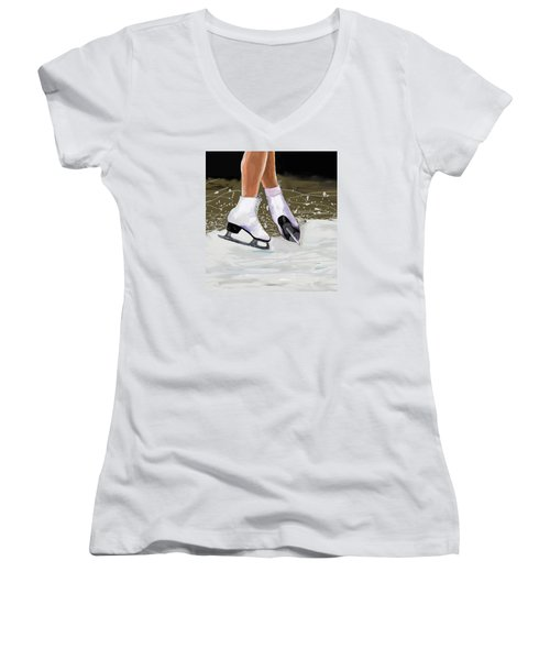 The Jump Women's V-Neck T-Shirt