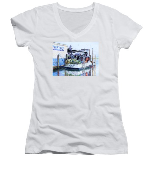 The Lily B Women's V-Neck T-Shirt