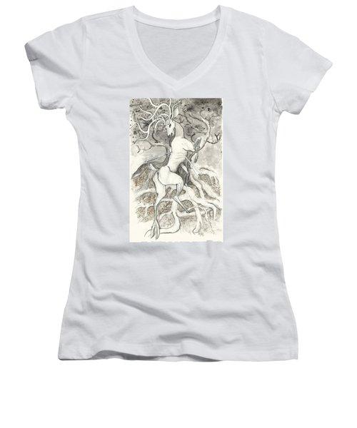 The Martyr Women's V-Neck T-Shirt