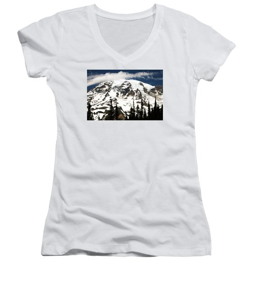 The Mountain Women's V-Neck T-Shirt