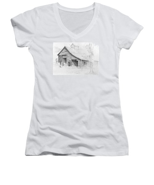 The Old Barn Women's V-Neck