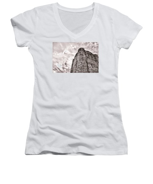 The Old Dungeon Women's V-Neck (Athletic Fit)