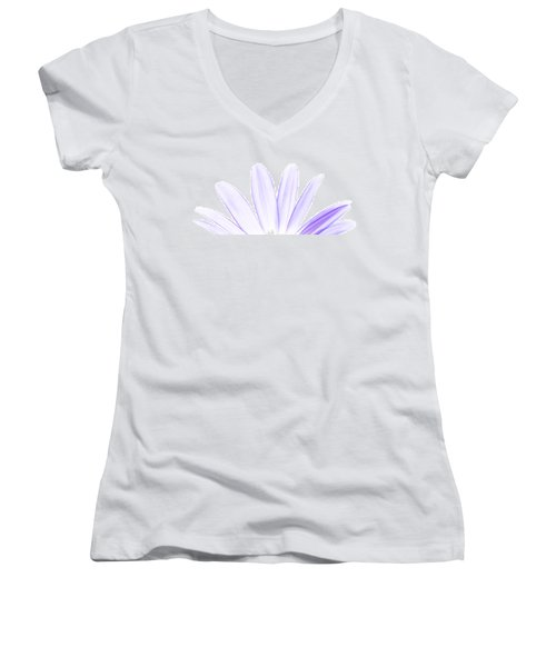 The Purple In Your Soul Women's V-Neck (Athletic Fit)