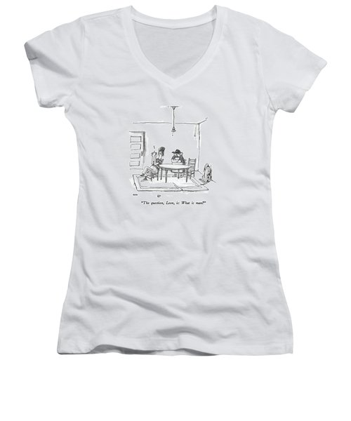 The Question Women's V-Neck
