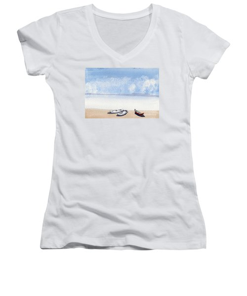 The Shore Women's V-Neck
