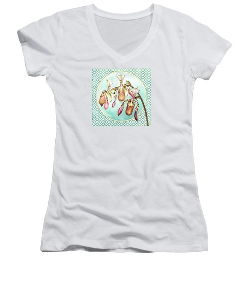 The Three Graces Women's V-Neck (Athletic Fit)