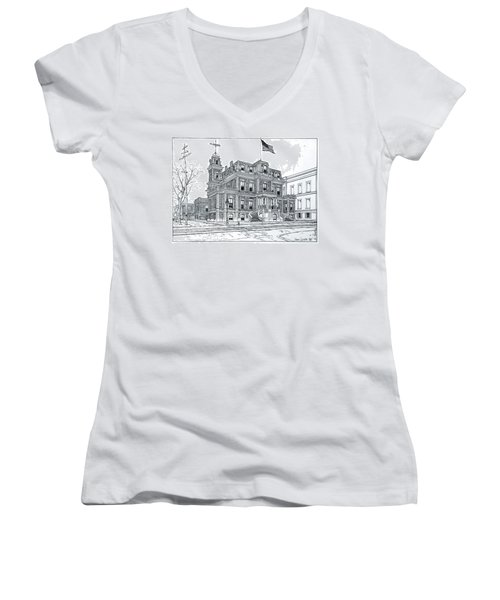 The Union League Philadelphia 1867 Women's V-Neck (Athletic Fit)