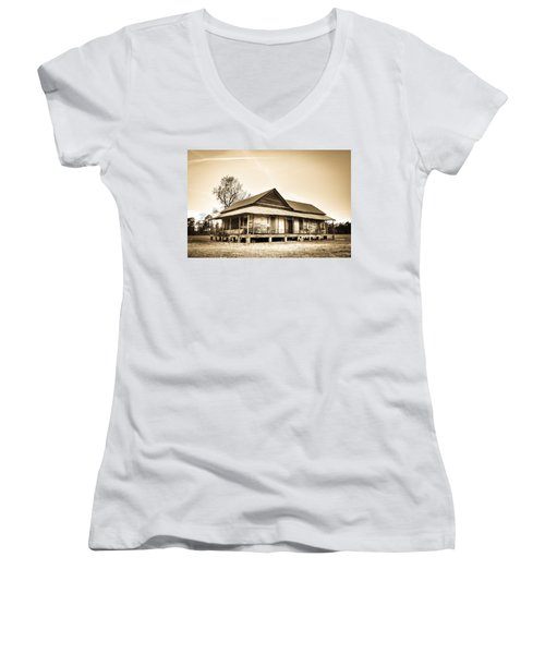 The Union School Women's V-Neck T-Shirt