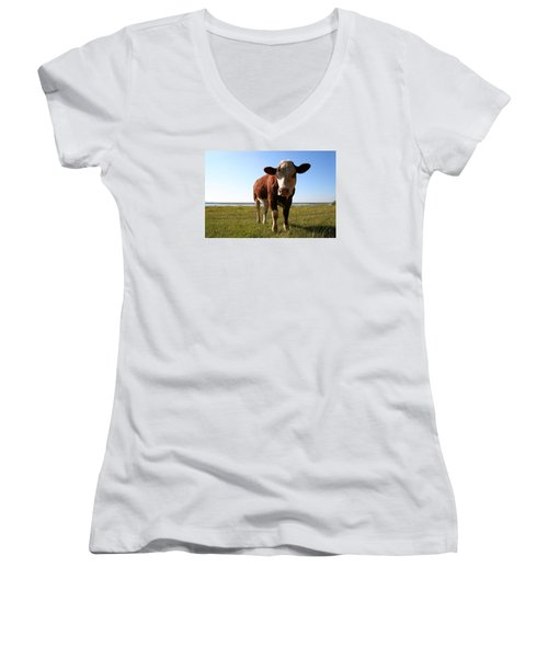This Is My Grass Women's V-Neck