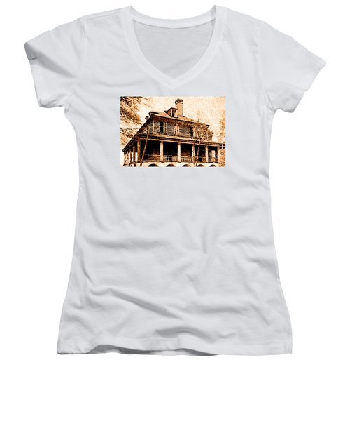 This Old House Women's V-Neck (Athletic Fit)