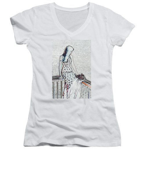 Thoughtful Women's V-Neck (Athletic Fit)