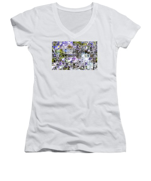 Through The Looking Glass Women's V-Neck T-Shirt