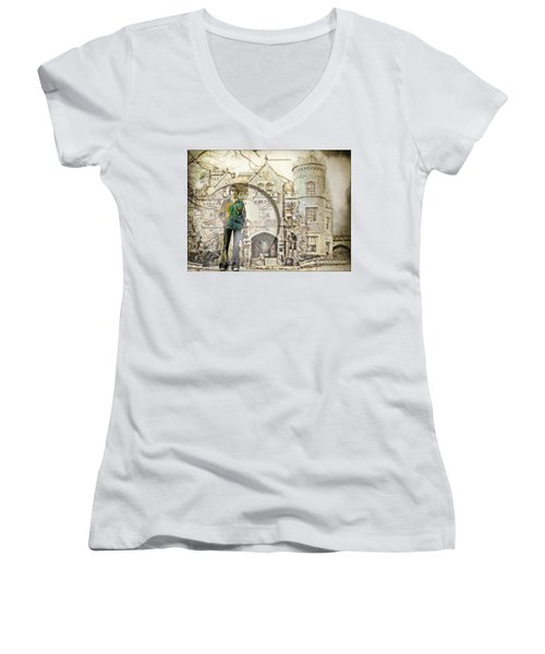 Time Lapse Women's V-Neck T-Shirt