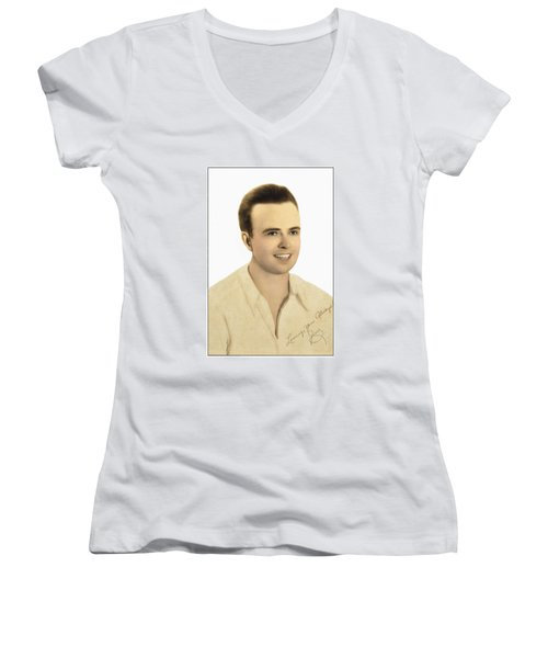 To You With Love Women's V-Neck