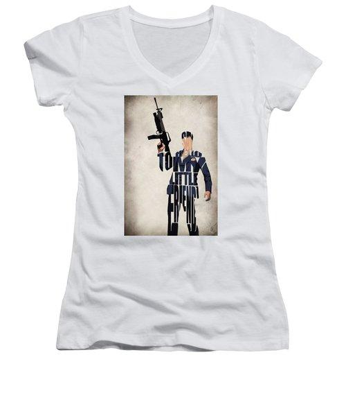 Tony Montana - Al Pacino Women's V-Neck