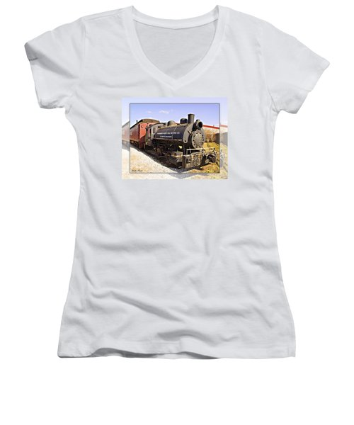 Train Women's V-Neck T-Shirt