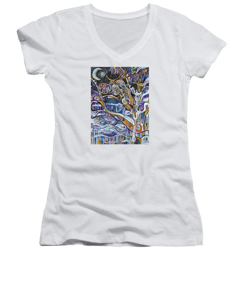 Transitions Women's V-Neck T-Shirt