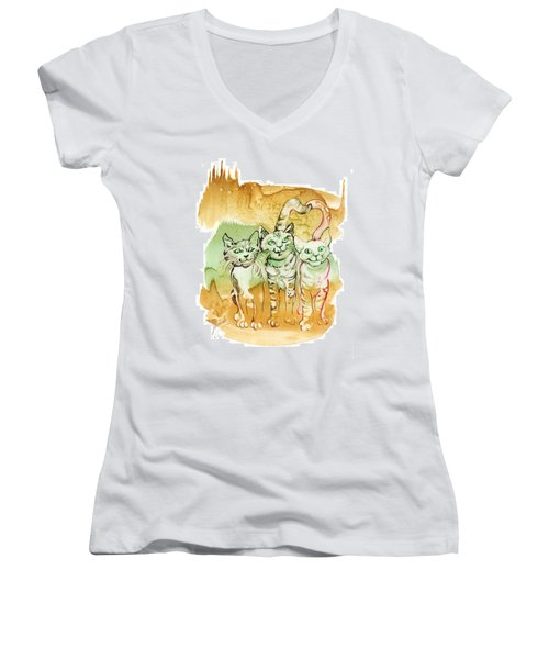 Tree Brothers  Women's V-Neck